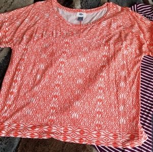 Women's Top Old Navy Large